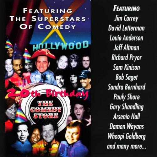 The Comedy Store 20th Birthday cover art