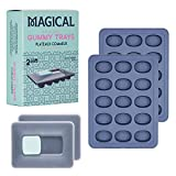 Magical Butter machine 10ML Silicone Non-Stick Gummy Trays for Hard Candy Chocolate Molds and soaps