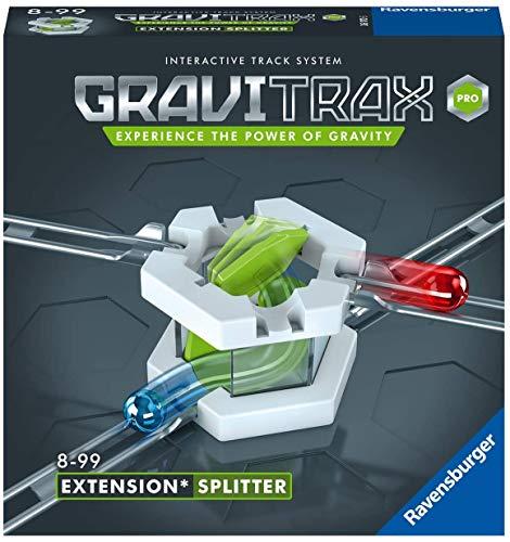 Ravensburger GraviTrax PRO Erweiterung Splitter - Ideales Zubehör für spektakuläre Kugelbahnen, Konstruktionsspielzeug für Kinder ab 8 Jahren