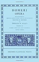 Homeri Opera/Iliadis Libros Xiii-Xxiv Continens (Oxford Classical Texts)