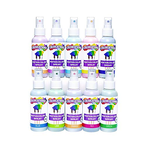 Colorations SPRITZY Watercolor Spray (Pack of 10)