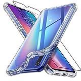 ebestStar - Funda Compatible con Xiaomi Mi 9 Carcasa Silicona, ángulos Reforzados, Ultra Claro Case Cover, Transparente + Cristal Templado Protector Pantalla [Mi 9: 157.5 x 74.7 x 7.6mm, 6.39'']