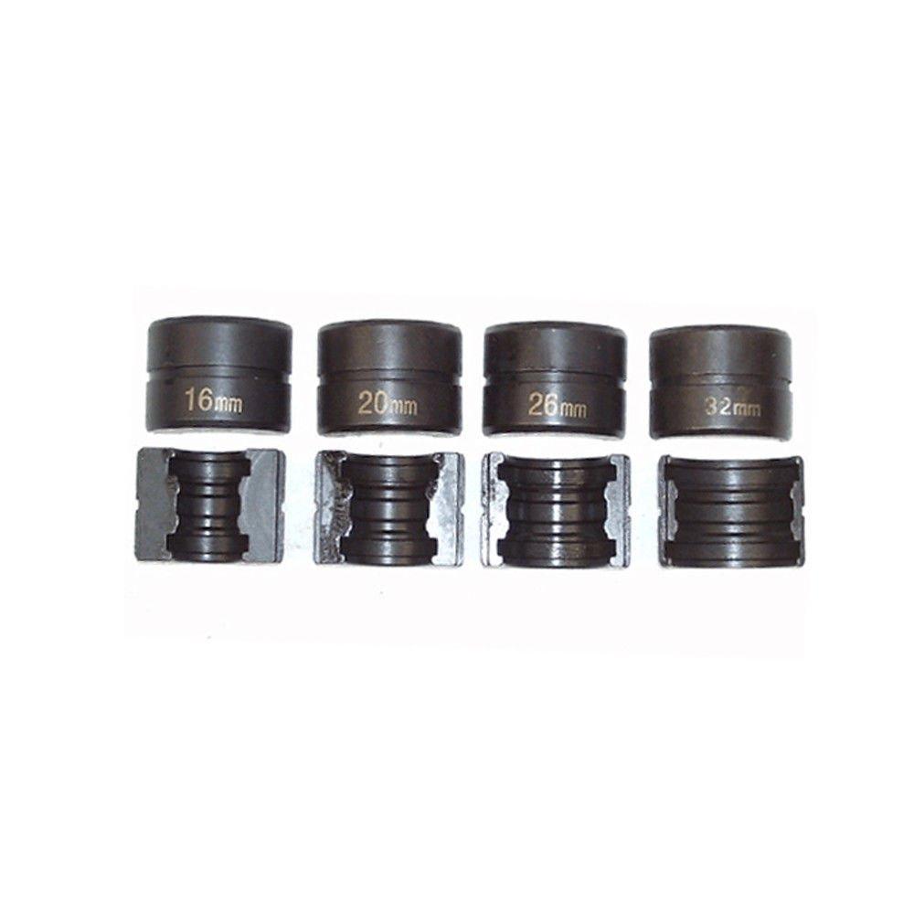 BMOT Pressfitting Alicates de prensado Alicates de prensado de tubos Alicates de prensado Tubo compuesto PEX PE-X Tubo de aluminio de 16-32 mm Herramienta de prensado de tubos de aluminio