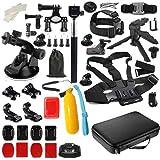 Acción Accesorio de cámara para GoPro Hero 7 6 5 4 Negro Xiaomi Yi 4K Lite 2 SJCAM SJ7 EKEN H9 GO Pro Pro Mound para Sony Nikon Set Kit (Color : Set 2)