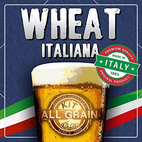 Kit All Grain para cerveza Wheat 100% italiana (23 litros)