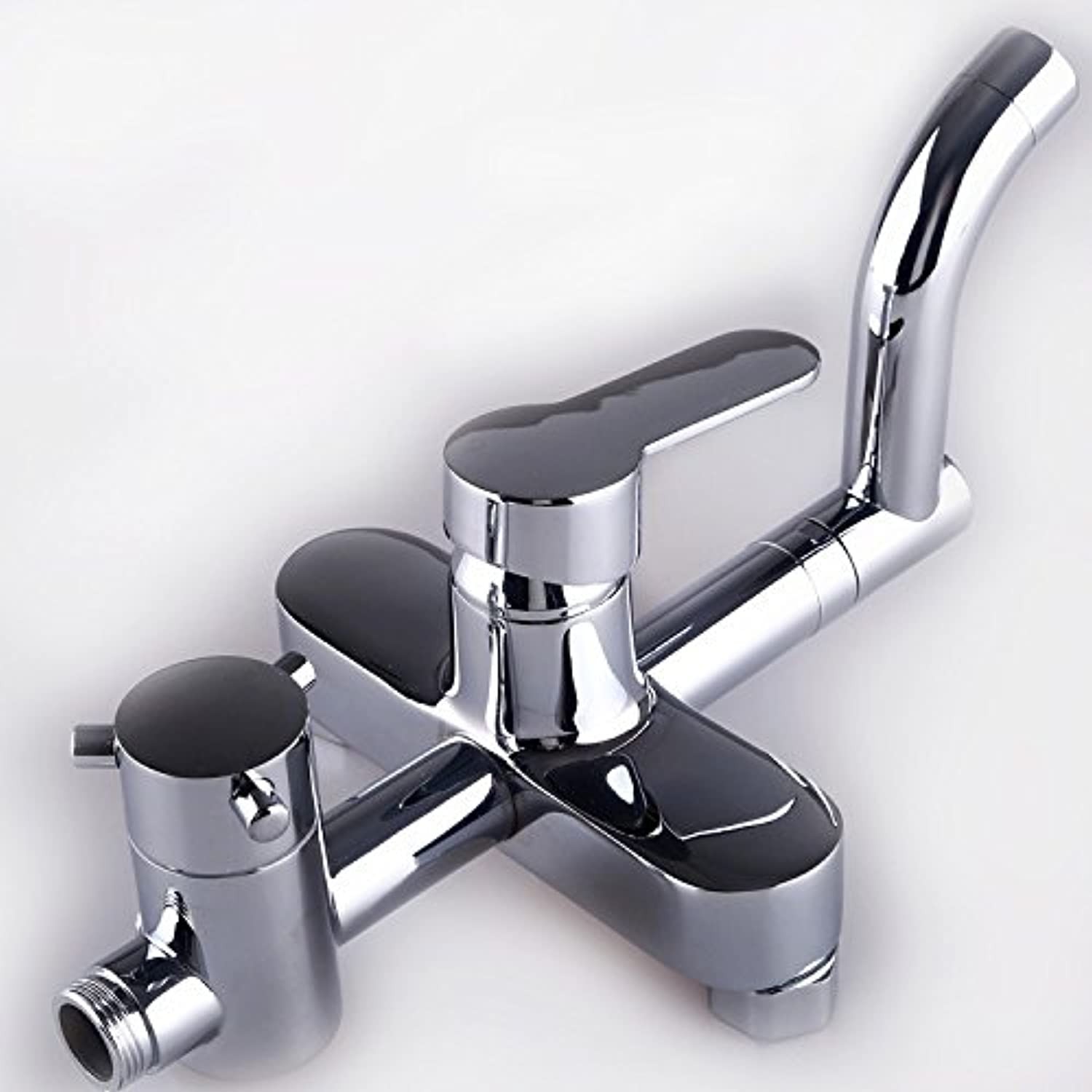 Hlluya Professional Sink Mixer Tap Kitchen Faucet Shower faucets, water heating full copper shower faucet third gear hot and cold mix of qualified