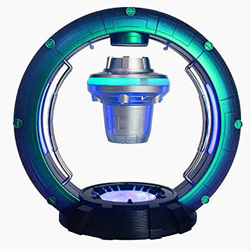 QXXZ Luz LED Globo Levitación Magnética OVNI Astronave Estación Espacial Globo Flotante,con Altavoz Inalámbrico Bluetooth,para Hogar Oficina Decoración Niño Cumpleaños Regalo Navidad