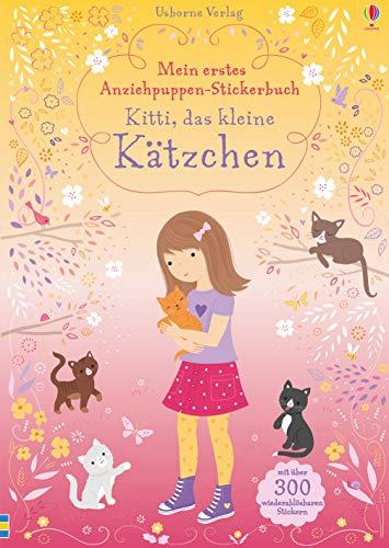 Mein erstes Anziehpuppen-Stickerbuch: Kitti, das kleine Kätzchen
