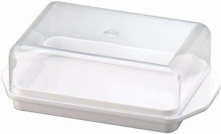 Wüllner + Kaiser Butterdose Kühlschrankbutterdose, Weiß, 13,8 x 8,8 x 4,9 cm preisvergleich bei geschirr-verleih.eu
