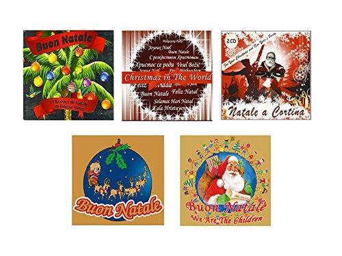 Special Offer 5 CD Musica Natalizia, Christmas Songs, Buon Natale, Natale a Cortina, musica di natale per bambini
