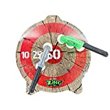 Zing Zax Mega Target Pack;Toy Foam Throwing Axe; Great for Indoor/Outdoor Target Game with Friends and Family, Also a Great Boys or Girls Toy for Ages 5 Years and up