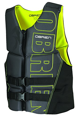 Best Price O'Brien Men's Flex V-Back Neoprene Life Vest, Yellow, Large