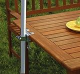 Fachhandel Plus Tischklammer für Sonnenschirm Schirmklammer Halterung Halter
