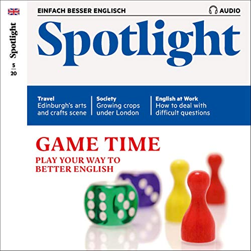 Spotlight Audio - Game time. 5/2020 Titelbild