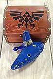 STL tenore Ocarina Zelda–C–12fori–ceramica...