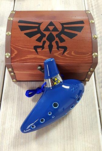 STL Zelda Ocarina Tenor-C 12 Löcher - Keramik