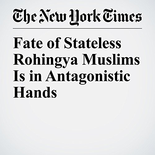『Fate of Stateless Rohingya Muslims Is in Antagonistic Hands』のカバーアート