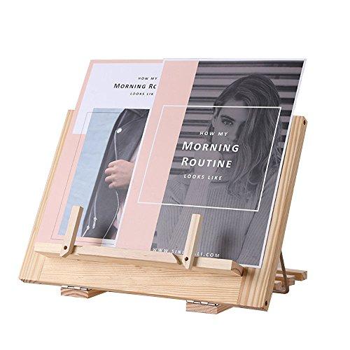 書見台 ブックスタンド 譜面台 データホルダー タブレット台 木製 卓上 角度調節可能 折りたたみ 伸縮 持ち運びやすい 軽量 コンパクト 丈夫 かわいい おしゃれ