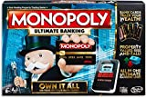 Monopoly Ultimate Banking Edition Board Game, Electronic Banking Unit, Multi color Game For Families And Kids Ages 8 And Up