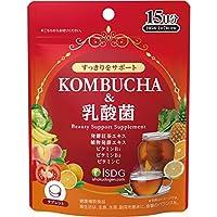 ISDG 医食同源ドットコム KOMBUCHA&乳酸菌 (昆布茶&乳酸菌) 105粒 15日分