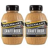 Plochman's Craft Beer Mustard Mustard 11 Ounces (2 Pack)