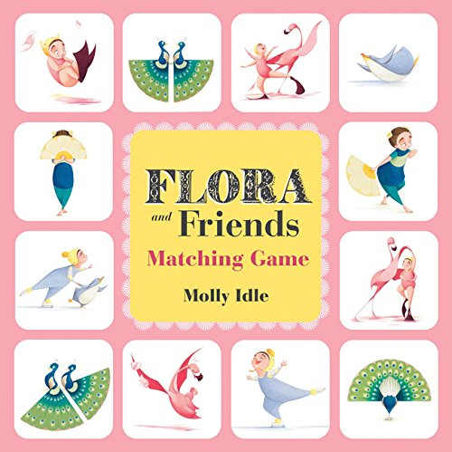 Flora and Friends Matching Game (Flora the Flamingo Book, Flamingo Game, Animal Matching Game, Memory Game): (friends Matching Games for Children, Kid