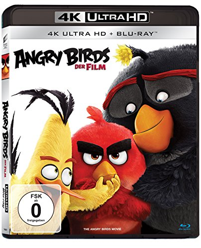 Angry Birds - Der Film (4K Ultra HD) [Blu-ray]