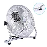 Ventilador Potent Fan Silencioso,3 Aspas Portátil con Inclinación Regulable Ventilador De Escritorio,Tiendas, Fábricas, Almacenes Ventilador Mesa Sobremesa