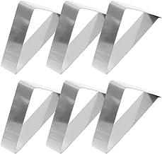 2 piezas Wolfpack 5360150 Juego pinzas sujeci/ón 150 mm