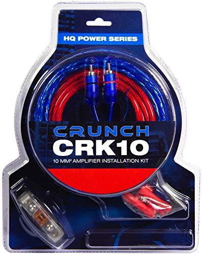 Crunch CRK10 Car HiFi Endstufen-Anschluss-Set 10mm²
