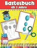 Bastelbuch ab 3 Jahre: Vorschulblock | Schneiden Kleben Malen | Ausschneidebuch ab 3 Jahre | Perfect Geschenkidee