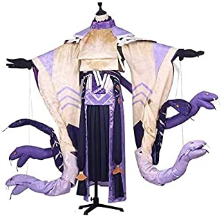 陰陽師 SSR式神 八岐大蛇(ヤマタノオロチ) 未覚醒 風 コスプレ衣装風