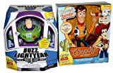 Buzz Lightyear & Sheriff Woody SIGNATURE COLLECTION Thinkway Disney Toy Story