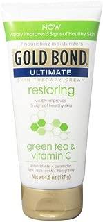 Gold Bond Ultimate Skin Therapy Cream green tea & vitamin C 4.5 oz