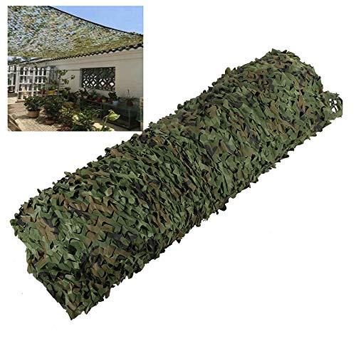 YXLZ camouflagennet, 13,1 m x 32,8 m, voor camping, hek, balkon, achtergronddecoratie 4 * 10m