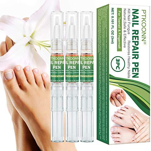 Nagelpflege Stift, Nagelreparatur, Nagelpflege und Behandlung, Nagelpflege für gesunde Fuß und Hand, Nagelpflegeöl,Nagelpflege pflegend Treatment Entfernen Ablagerungen Reparatur Nägel 3PC