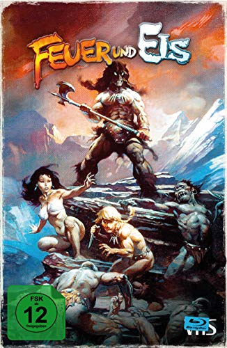 Feuer und Eis - Limited Collector's Edition im VHS-Design [Blu-ray]