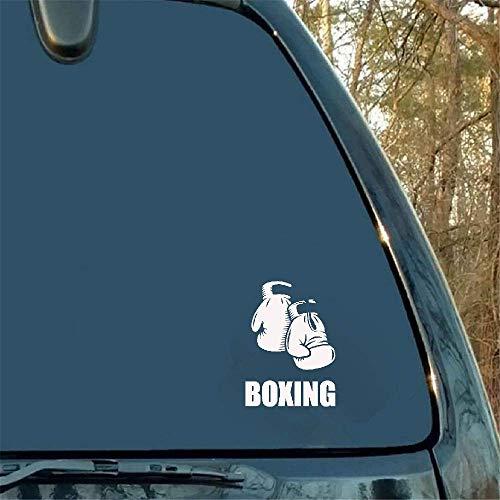 12.2 * 17.1CM Coolste Boxhandschuhe Vinyl Autoaufkleber Lustiges Außenzubehör für Bmw Clk Subaru Forester Haval Toyota Crown