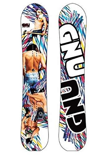 Gnu Womens Stunt Puppy C2E Snowboard 148