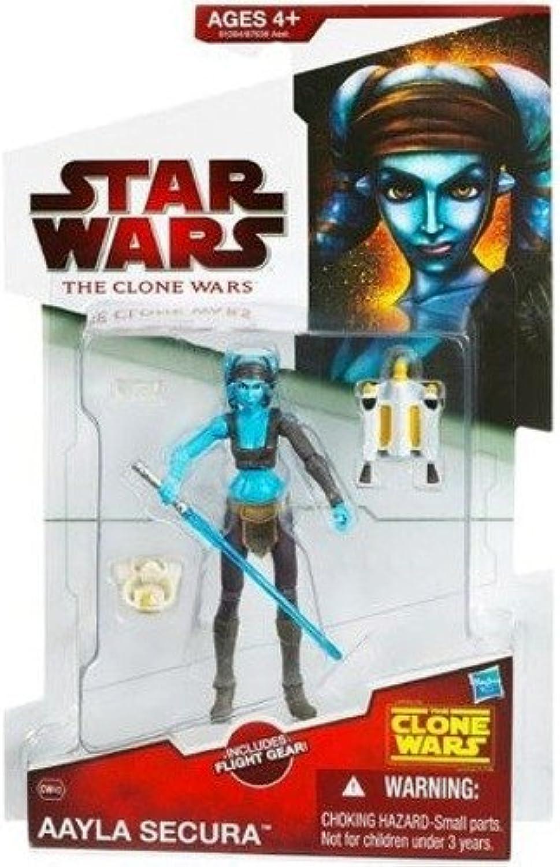 Aayla Secura  Star Wars Clone Wars Action Figures Wave 11