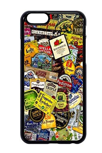 Bkstuff Cover Custodia TPU Birre Etichette STICKERBOMB per Vari Modelli (iPhone 6 6s)
