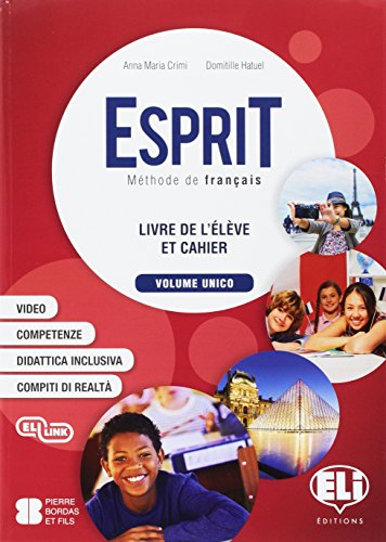 Esprit. Per la Scuola media. Con e-book. Con espansione online. Con Libro: Mini dictionnaire illustre. Con CD-Audio [Lingua francese]
