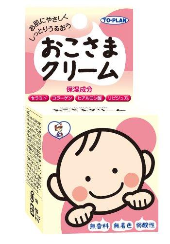東京企画販売 おこさまクリーム30g 無着色 無香料 弱酸性 低刺激クリーム [2721]
