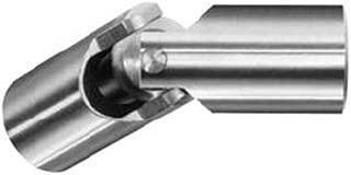 Belden UJ-HD375x188-1SS Heavy Duty Single Universal Joint 3//16 Bore Setscrew 3//8 OD 1-3//4 Overall Length 3//16 Bore 3//8 OD 1-3//4 Overall Length Belden Universal Joints B007BF431O Alloy Steel
