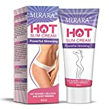 Hot Cream Cellulite Treatment, Fat Burning Cream for Belly,Natural Anti-Cellulite Slimming Cream
