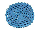 Alta YBN Bicycle (S410) Chain (Single Speed, 1/2 x 1/8-Inch, 112L), Multiple Colors (Blue)