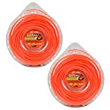 Cyclone CY095D1-12 Orange .095-Inch-by-285-Foot Commercial Grade Trimmer Line