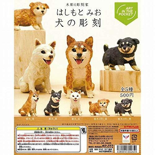ART IN THE POCKET はしもとみお 犬の彫刻 [全5種セット(フルコンプ)]
