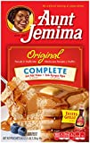 Aunt Jemima Pancake & Waffle Mix, Original Complete, 96 Servings Box