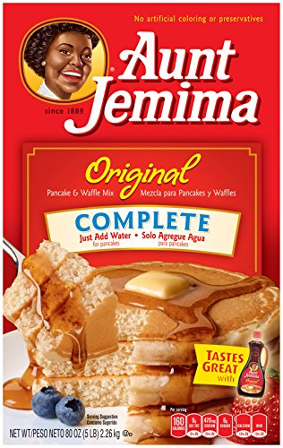 Aunt Jemima Pancake amp Waffle Mix Original Complete 96 Servings Box